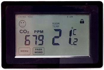 4.04 CO2 + T sensor controller